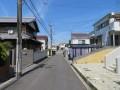 前面道路含む現地写真 (1)
