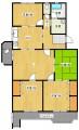 城の宮第二住宅 15号棟A 5F 430万円