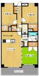 エフ・コート神戸西 403号室 1180万円