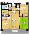 ライオンズマンション明石海浜公園 4F 1380万円